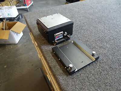 Wentworth Labs Pmm-hp Mitutoyo Microscope Base Mount Linear Scale 5 12 X 5 12