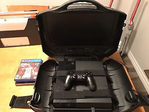 Selling PS4 with gaems gaming monitor