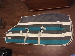 Shedrow Newmarket Heavy Fleece Cooler Sz S