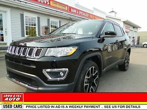 2018 Jeep Compass Limited/AS LOW AS $113.00 A WEEK