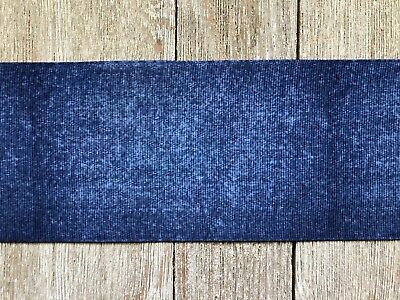 Used, 5 Yards Jeans Print Grosgrain Ribbon Hair Bow Supplies USA Seller for sale  Dinuba