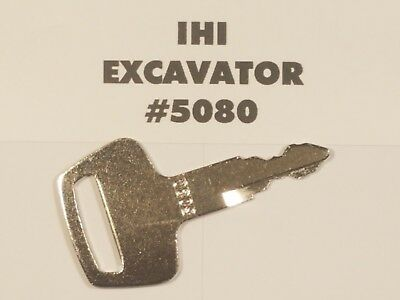 2 Ihi Key Excavator Heavy Construction Equipment Ignition Key Free Shipping