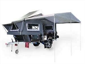 WONDER 4 FORWARD FOLDING FULL SIZE OFF ROAD CAMPER TRAILER Wingfield Port Adelaide Area Preview