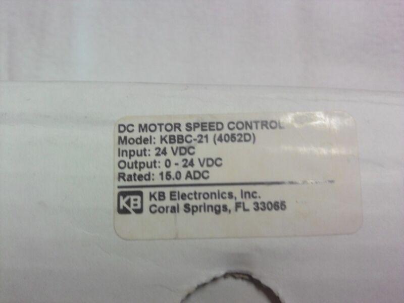 KB Electronics DC Motor Speed Control