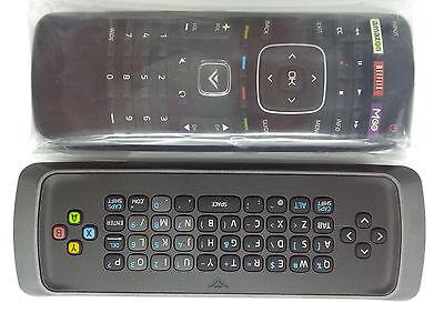 NEW VIZIO XRT302 QWERTY KEYBOARD REMOTE for M650VSE M420KD  E701i-A3 E601i-A3 TV