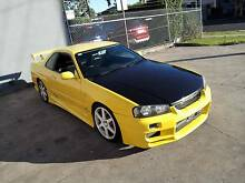 $16800 1999 Nissan Skyline R34 25GT-T Coupe 8 month rego Greenvale Hume Area Preview