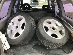2004 Audi A4 wheels and tires