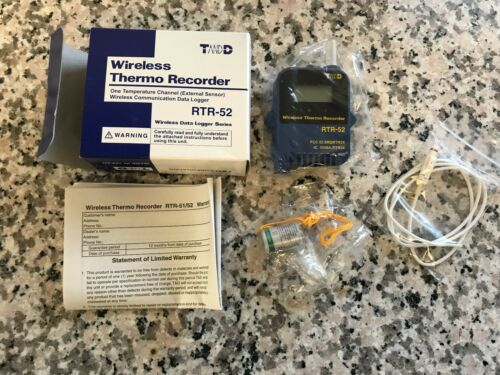 TANDD RTR-52 Wireless Logger --- NEW!