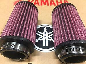 Yamaha Banshee 350  K&N Style Air Filters PAIR for 26mm stock carburetors