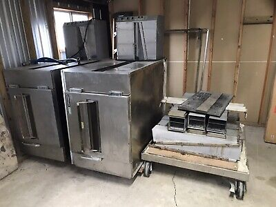 Lincoln Impinger 1000 Double Gas Conveyor Ovens