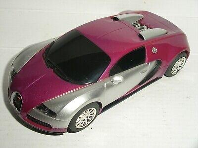 Scalextric - Bugatti Veyron Purple - Exc. Cdn.