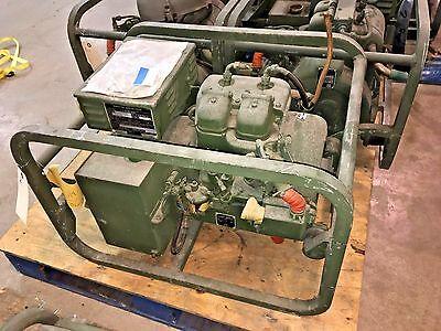 Gasoline Generator Set 28v Dc 1.5 Kw 53.5 Amps