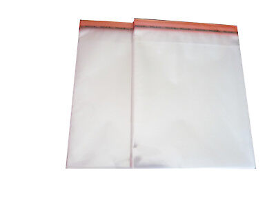 100  Schutzhüllen  aus PP-Folie für Blu-Ray,Steelbook bis 15 mm, mit Verschluss
