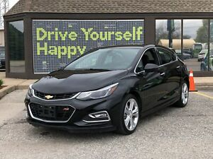 2018 Chevrolet Cruze Premier / LEATHER/HEATED SEATS/ BACK UP CAM