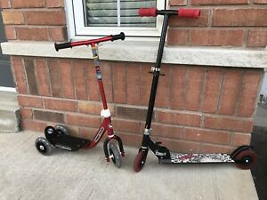 Good and clean condition scooters $15 each, 2 for $25.