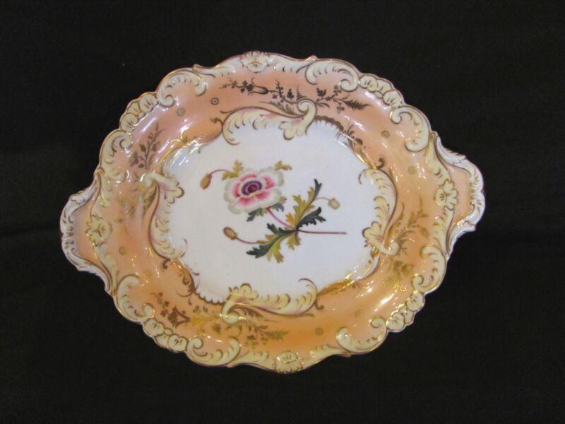 Antique English Porcelain Serving Dish 19th Century