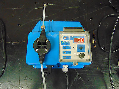 Barnant Heavy Duty Metering Pump Type Hd Ph-p1 Powers Up Responds Sr211