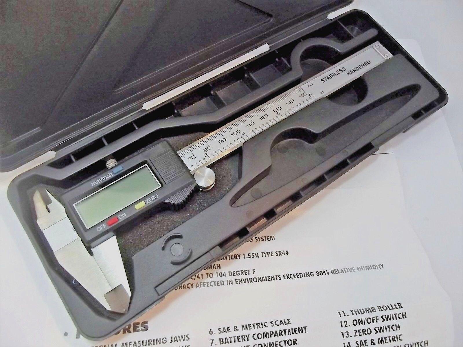 CALIBRO digitale misurazione esterna interna fino a 15 cm