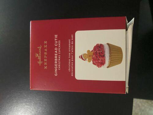 GINGERBREAD CUTIE #11 CHRISTMAS CUPCAKES 2020 Hallmark Ornament-DAMAGED BOX