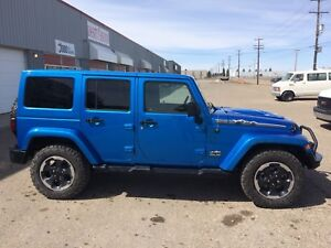 2014 Jeep Wrangler Unlimited Sahara Polar Edition(leather, Nav,)