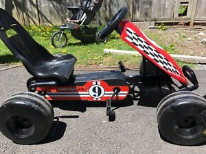 Super cycle go kart pedal car
