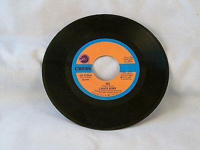 Chuck Berry 45  Bio   Roll Em Pete Chess Ch 2140 Nm  1973  Classic