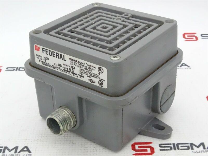 Federal 450 Vibratone Horn Series B3 12VDC 0.5A