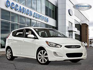 2014 Hyundai Accent Hatchback GLS TOIT+SIÈGES CHAUFF