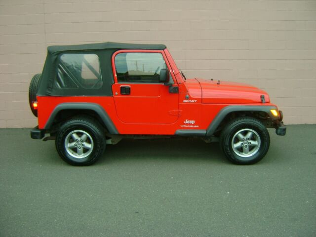 Image 1 of 2003 Jeep Wrangler Red…