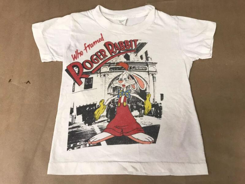 Vintage Who Framed Roger Rabbit t-shirt kids size Small 8