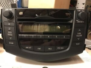 Toyota RAV4 Radio CD Player