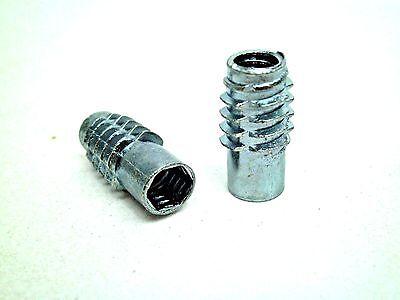 10,25,50,100,250,500,1000-1/4-20 x 3/4 20mm Zinc Threaded Insert STAFAST TNUT NC