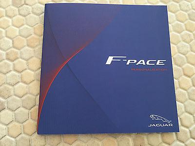 Jaguar F Pace Suv Crossover Personalisation Brochure 2017 Usa Edition