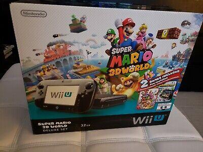 Nintendo Wii U Super Mario 3D World Deluxe Set 32GB Version 5.5.3 segunda mano  Embacar hacia Mexico