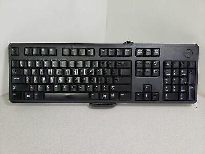 BLACK DELL USB WIRE KEYBOARD -