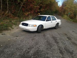 Ford crown victoria 2008 police pack
