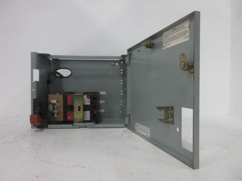 """General Electric GE 8000 25 Amp Breaker Type 12"""" MCC Feeder Bucket 25A TEL136025"""