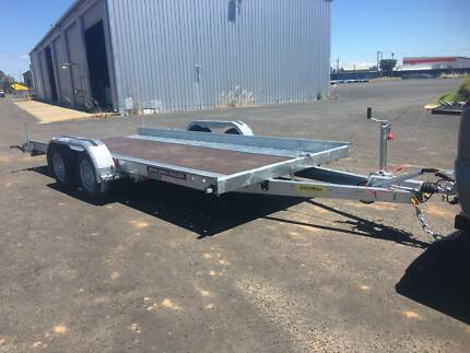CAR TRAILER - 2700KG - NO ELECTRIC BRAKES REQUIRED