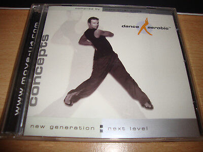 CONCEPTS Dance Aerobic CD und Video CD ROM Kluike Step Cardio Workout