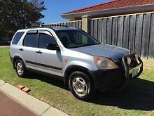 2002 Honda CRV SUV Priced for quick sell Mindarie Wanneroo Area Preview