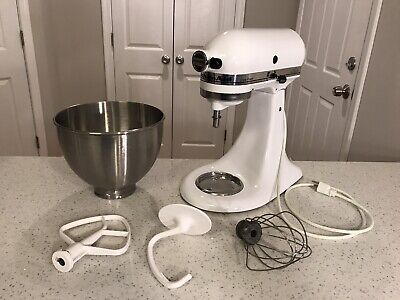 KitchenAid Ultra Power Tilt Stand Mixer RRK90 Bowl And Attachments