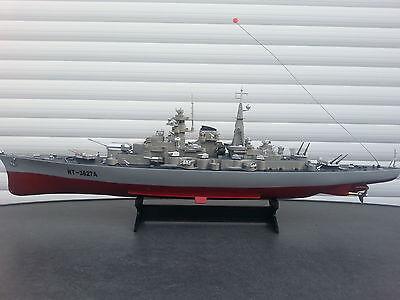 RC Boot/Schiff Kriegsschiff Schlachtschiff-Modell Bismarck , Fregatte