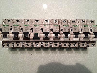 10 Stk. Schneider electric Telemecanique C60H   C10 Leitungsschutzschalter