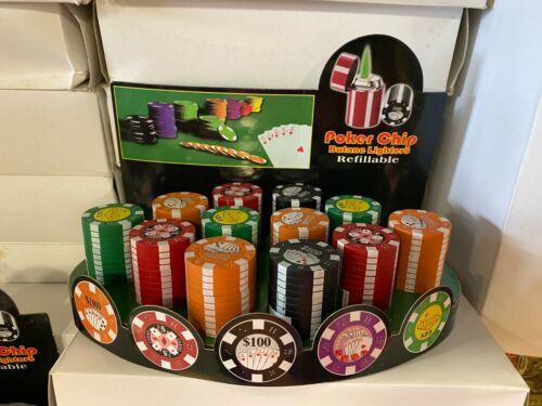 Poker chip Lighter Set
