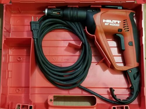 Hilti SF4000 drywall screw gun PRE OWNED.