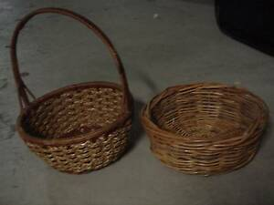 Wicker hamper baskets in townsville region qld home decor large woven circular wicker basket rustic country decor negle Gallery