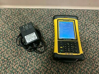 Trimble Nomad Data Collector With Trimble Mep 2.4.0 Installed Battery Charger