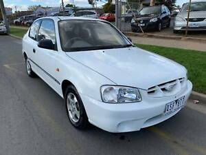 2001 Hyundai Accent Manual Sedan Shepparton Shepparton City Preview