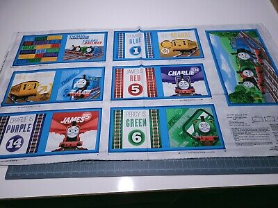 Thomas the Train Tank Color Express Book Panel 23x42 QT BOLT END DIRTY