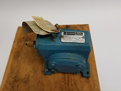 Diamond Worm Speed Reducer 479978-gv 1.75hp 1750rpm 536 Torque